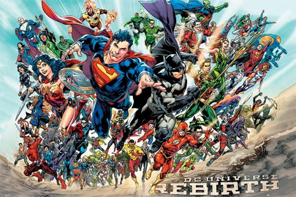Justice League: Rebirth, Maxi Poster