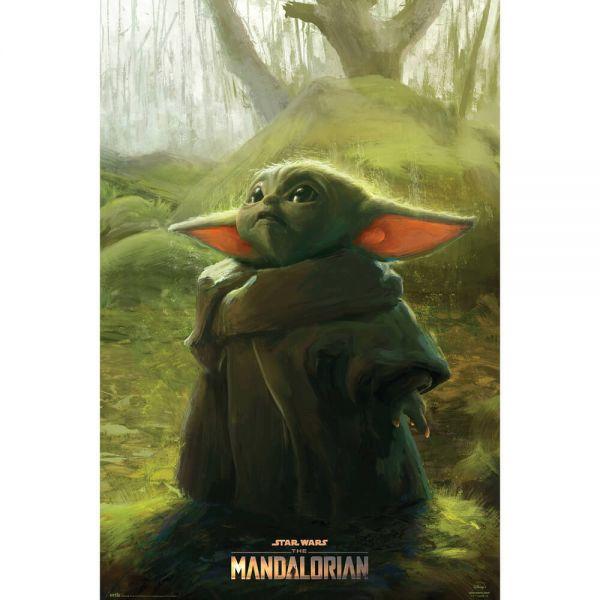 Grogu The Child Art Maxi Poster Star Wars