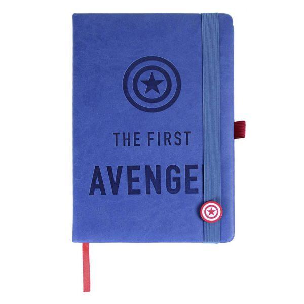 The First Avenger Premium A5 Notizbuch Marvel