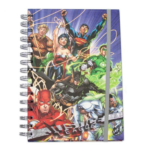 Justice League (United) Spiral Notizbuch