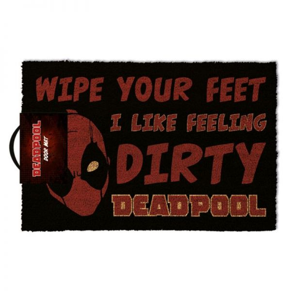 Deadpool: Wipe Your Feet I Like Feeling Dirty, Fußmatte
