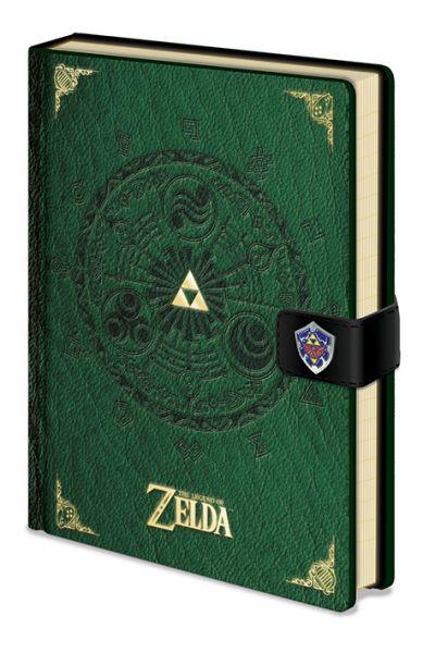 Triforce Zelda Premium A5 Notizbuch Nintendo