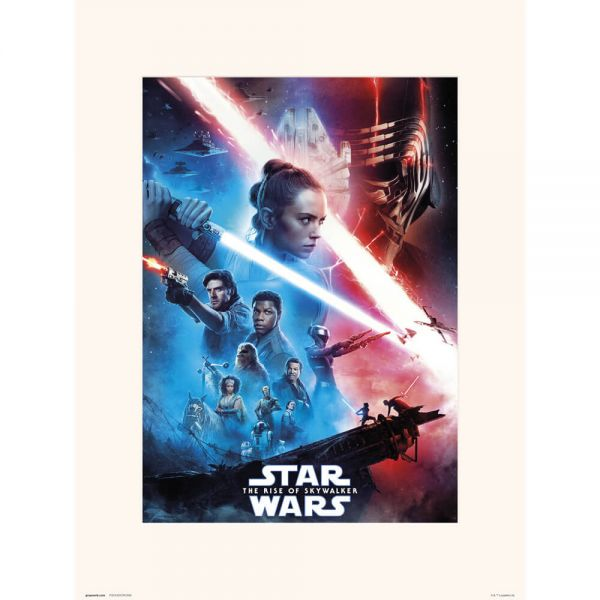 Episode 9 One Sheet Kunstdruck Star Wars