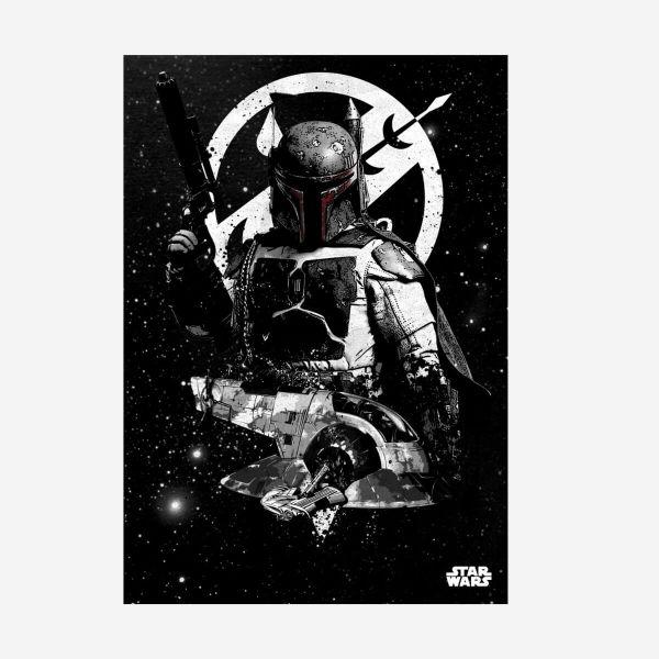 Sklave I Pilot Metall Poster Star Wars