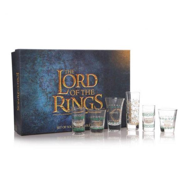 Lord of the Rings Shots 6er-Set Herr der Ringe