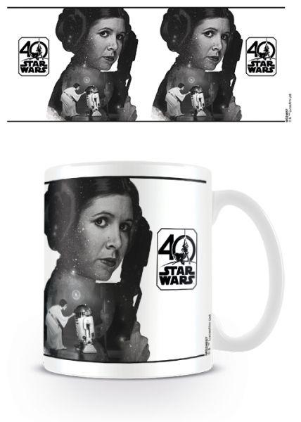 Prinzessin Leia 40th Anniversary Tasse Star Wars