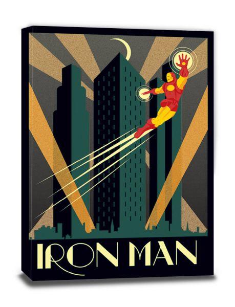 Marvel Deco (Iron Man), Leinwanddruck