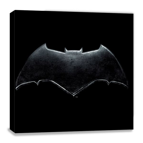Justice League: Movie (Batman Logo), Leinwanddruck