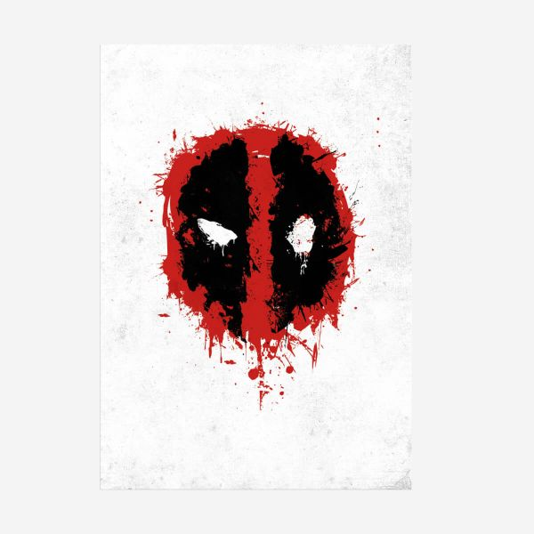 Deadpool Spray Tag – Metall Poster