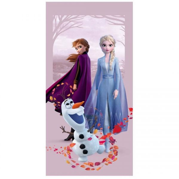 Elsa, Anna und Olaf Frozen II Handtuch Disney