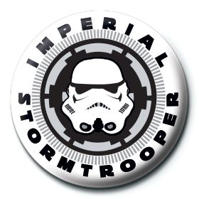 Imperial Stormtrooper Button Star Wars