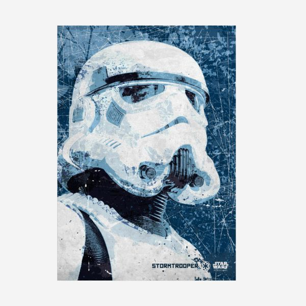 Stormtrooper Metall Poster Star Wars