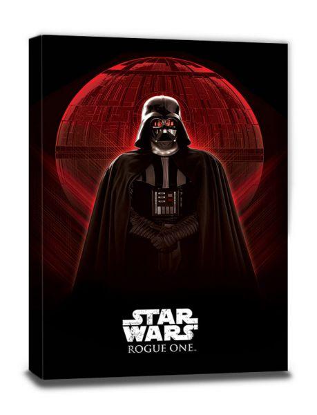 Star Wars: Rogue One (Darth Vader & Death Star), Leinwanddruck