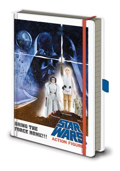 Action Figuren Premium A5 Notizbuch Star Wars