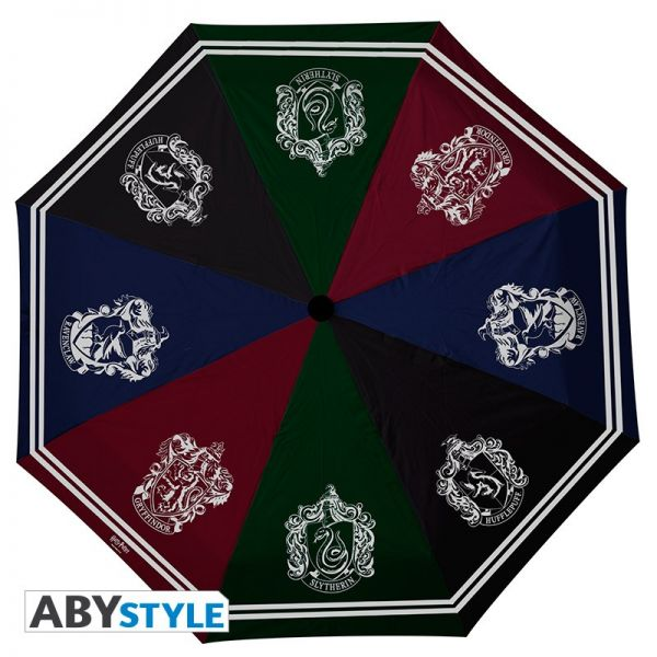 Häuser Wappen Regenschirm Harry Potter