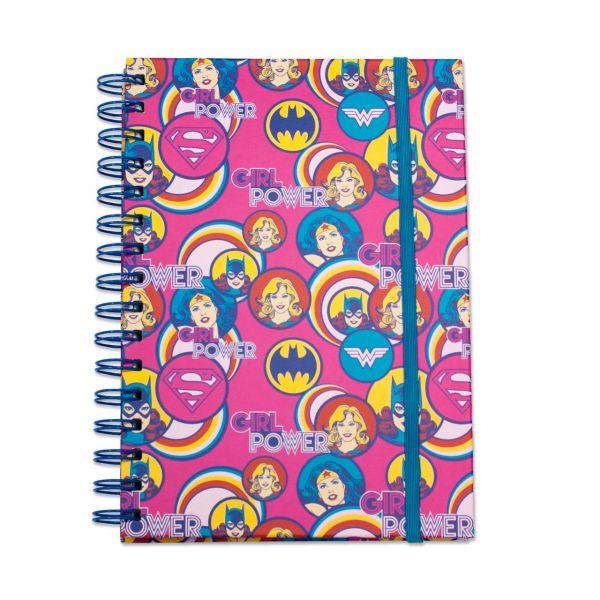 DC Comics: Girl Power Premium Notizbuch