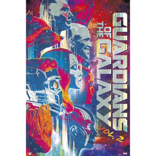 Guardians of the Galaxy Vol.2 Maxi Poster Marvel