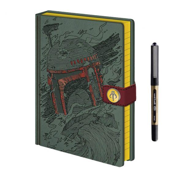 Boba Fett Art Premium A5 Notizbuch-Set Star Wars