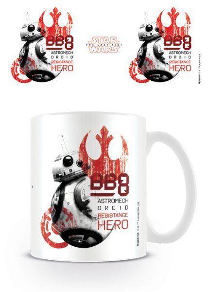 BB-8 Resistance Hero The Last Jedi Tasse Star Wars