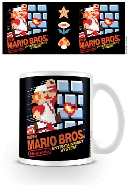 NES Cover Super Mario Tasse Nintendo