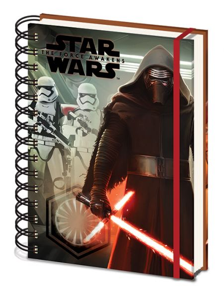Star Wars: Kylo Ren & Troopers Notizbuch