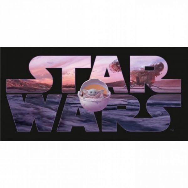 Grogu Mando Handtuch Star Wars