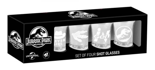 Jurassic Park - Shots 4er-Set