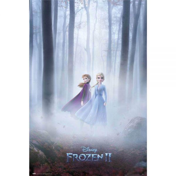 Elsa und Anna Frozen II Maxi Poster Disney
