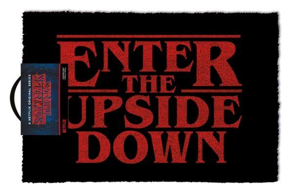 Enter The Upside Down Fußmatte Stranger Things