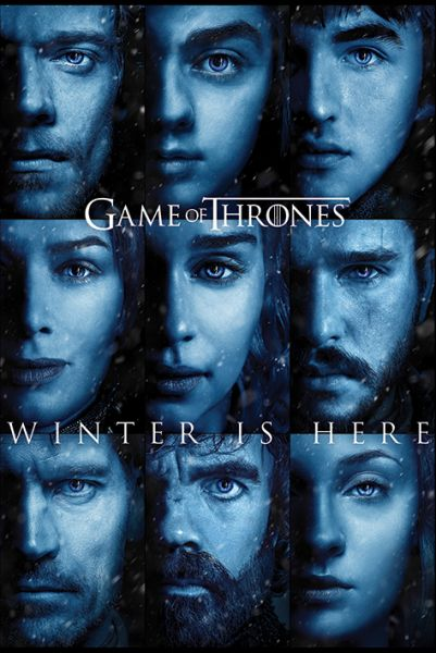 Game Of Thrones: Winter is here, Maxi Poster