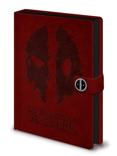 Deadpool (Splat) Premium Notizbuch