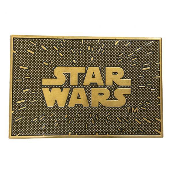 Star Wars Logo Gummi Fußmatte Star Wars