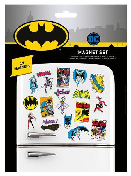 Batman Magnet 19er-Set DC Comics
