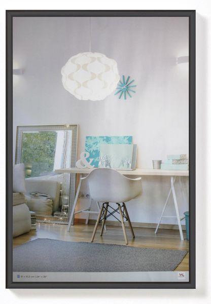 Kunststoff Bilderrahmen in Schwarz von Walther Design