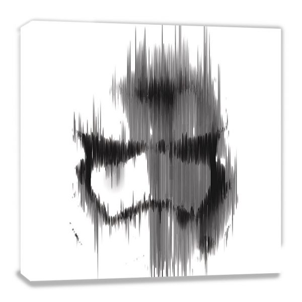 Stormtrooper Lines Episode VII Leinwandbild Star Wars
