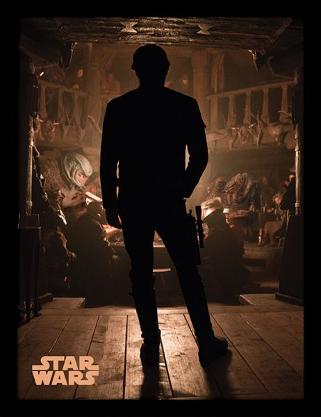 Solo: A Star Wars Story (Hive of scum and Villainy), gerahmt