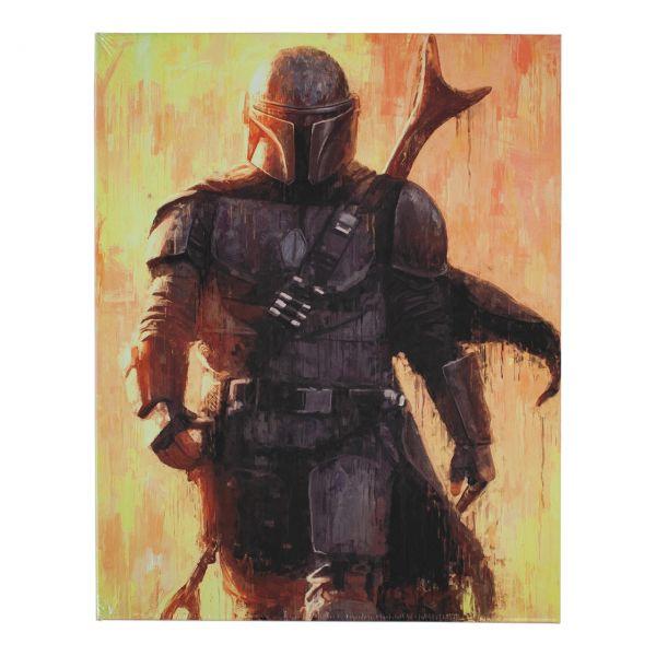 Star Wars Mandalorian Metallposter