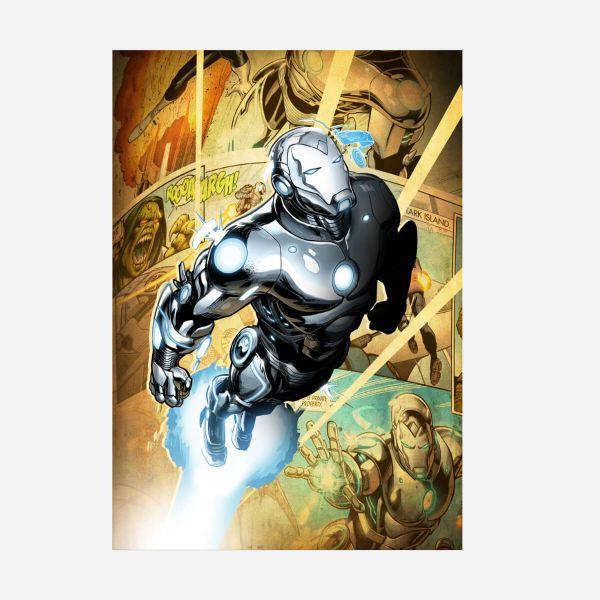 Superior Ironman Metall Poster Marvel