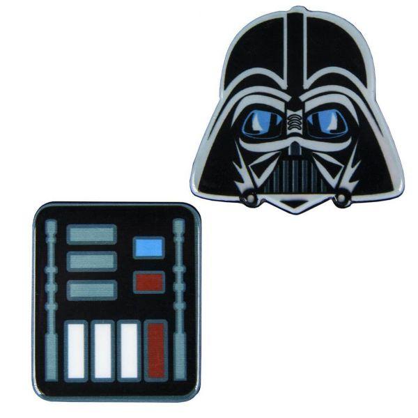 Darth Vader Brosche 2er-Set Star Wars