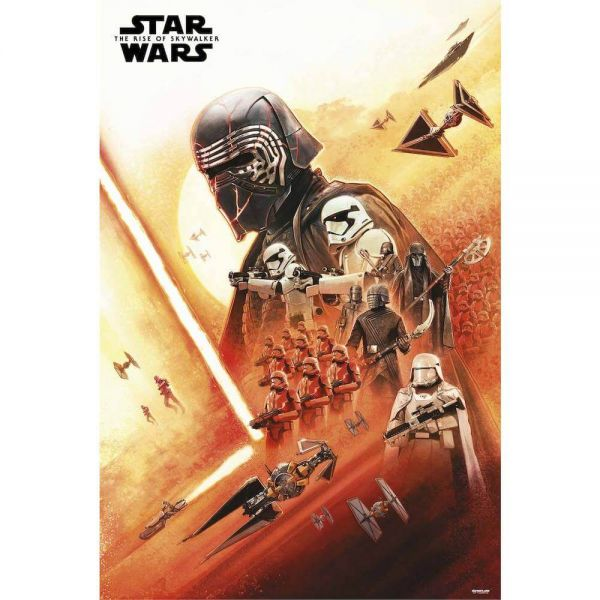 Kylo The Rise of Skywalker Maxi Poster Star Wars