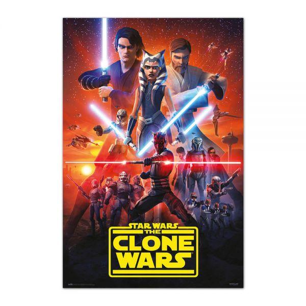 The Clone Wars Season 7 Maxi Poster Star Wars