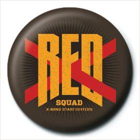 Red Squad Episode VII Button Star Wars