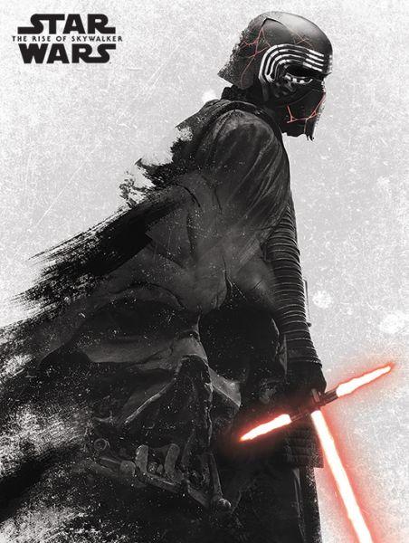 Star Wars: The Rise Of Skywalker (Kylo Ren + Vader) Leinwandbild
