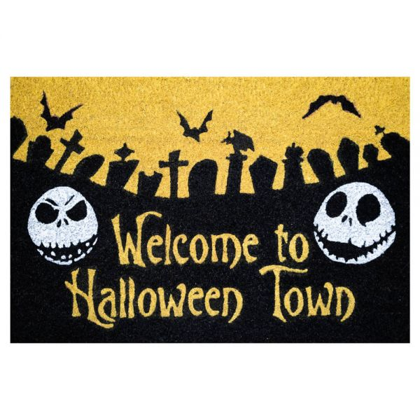 Welcome to Halloween Town Fußmatte Nightmare Before Christmas