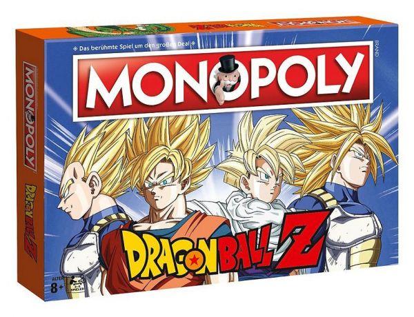 Dragon Ball Z Monopoly Brettspiel Deutsche Version