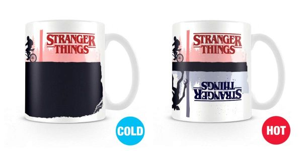 Upside Down Thermoeffekt Tasse Stranger Things