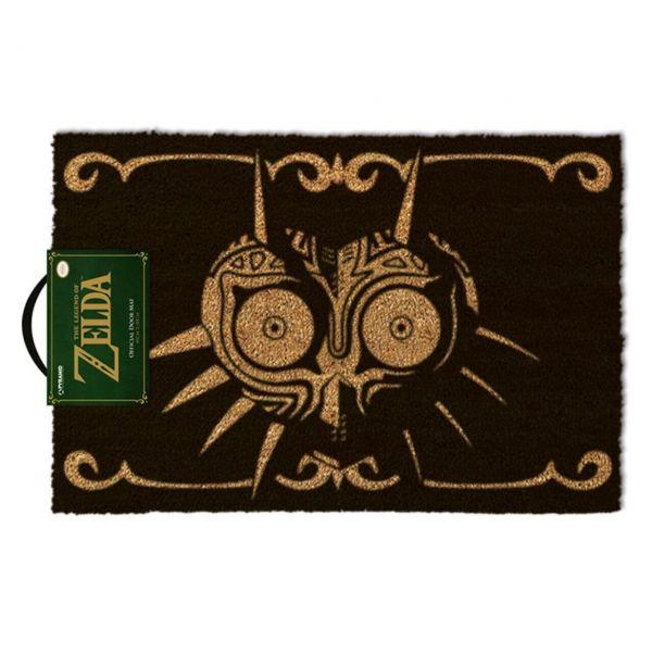 The Legend of Zelda (Majora's Mask schwarz) Fußmatte