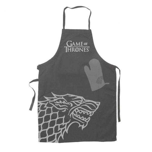 Stark Kochschürze mit Handschuh Game of Thrones
