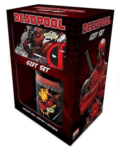 Deadpool Geschenk-Set Marvel
