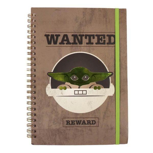 Wanted The Child Mando A5 Notizbuch Star Wars
